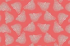 Cotton + Quill Terrace Collection | Palmetto :: Melon {One Yard}