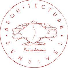 "Bio architecture studio ""Arquitectura Sensível"" logo created by João Fonseca, graphic designer."