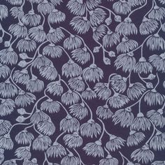 Ink and Spindle - Landscape - White Mallee in Navy