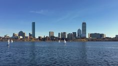 View of Back Bay Boston from across the Charles [OC][38292153]