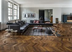 kahrs oak herringbone smoked ab engineered wood flooring. Black Bedroom Furniture Sets. Home Design Ideas
