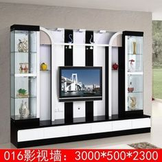 Lcd cabinet design ideas cupboards cabinets awesome cabinet designs for living room lcd tv wall unit Tv Unit Furniture Design, Tv Unit Interior Design, Tv Unit Design, Hall Furniture, Furniture Ideas, Tv Unit Decor, Tv Wall Decor, Bar Design, Tv Wall Design
