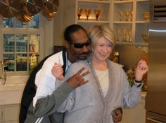 This picture of Martha Stewart and Snoop Dogg is shocking. http://ift.tt/2fvblnL