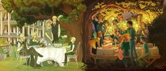 Happy Birthday by AnastasiaMantihora - Next Generation: Rose Weasley and Scorpius Malfoy turn 7