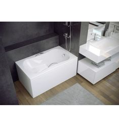 Meuble salle bain bois design ikea lapeyre ikea et for Baignoire sabot lapeyre