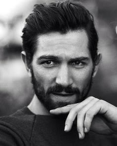Dutch rising star Michiel Huisman, he's an actor in Nashville and Game of Thrones and is the new face of Chanel.