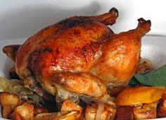 Pollo al Horno Te enseñamos a cocinar recetas fáciles cómo la receta de Pollo al Horno y muchas otras recetas de cocina.