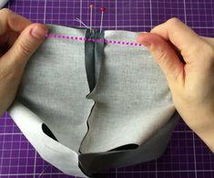 Tuto tout simple : le petit panier en tissu (ou la petite panière...ou la petite corbeille...à couches, vide-poches, ou à tout ce qu'on veut) - Huguette Huguette Neurone, Vide Poche, Dimensions, Gym Shorts Womens, Diy, Bags, Fashion, Sewing Doll Clothes, Do It Yourself