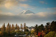 Berg Fuji in de ochtend van Patrick Dielesen