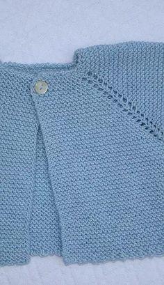 Com - Diy Crafts - Hadido - Diy Crafts Diy Crochet Cardigan, Knitted Baby Cardigan, Toddler Sweater, Easy Scarf Knitting Patterns, Baby Cardigan Knitting Pattern, Knitting Designs, Diy Crafts Knitting, Knitting For Kids, Brei Baby