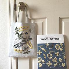 「帰省後は秋の気配の東京 ✳︎ ✳︎ ウール刺繍の季節もあっという間に来そう。 #暮らし#刺繍#ウール刺繍 #woolstitch #embroidery #handmade #樋口愉美子」