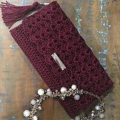 Crochet Backpack Pattern, Crochet Clutch Bags, Crochet Wallet, Crotchet Bags, Crochet Purse Patterns, Crochet Handbags, Crochet Purses, Crochet Bag Tutorials, Diy Crafts Crochet