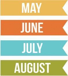 Silhouette Online Store: months may, june, july, august