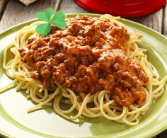 St. Patty's Irish Spaghetti