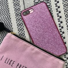 Matching  Pink Glam Case for iPhone 7 & iPhone 7 Plus from Elemental Cases
