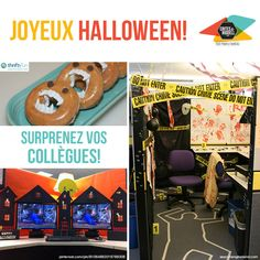 Joyeux Halloween | Happy Halloween ! Crime, Scene, Fun, Happy Halloween, Crime Comics, Fracture Mechanics, Funny