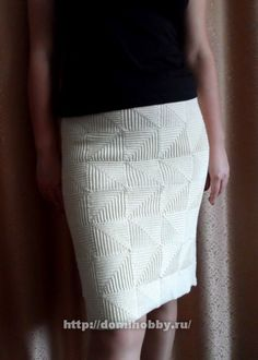 Beautiful crochet skirt! Pattern and photos here: http://domihobby.ru/807-pechvork-kryuchkom.html Юбка крючком в технике пэчворк