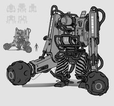 ArtStation - march of the robots part 1, Alex Thomas