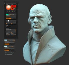 Metabaron Nameless ZBrush Render Tutorial | 3DM3 – Tutorials | Making ofs | Articles | Videos Tutorials