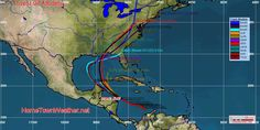 Potential Problems For The Gulf Later This Week - Home Town Weather - Hurricane Central
