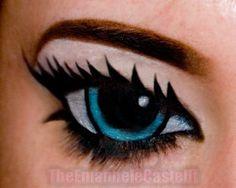 Manga (cartoon) eyes http://www.makeupbee.com/look.php?look_id=65900