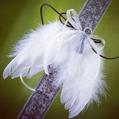 Πασχαλινή λαμπάδα με φτερά #πασχαλινες #λαμπαδες #πασχαλινα #ManolasDeco