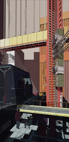 Douglas Miller, BSc Architecture Unit 4, Y2, Douglas Miller Y2, 'The Machining of Chicago' by Bartlett School of Architecture UCL, via Flick...