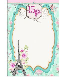 Paris Birthday, Stencils, Clip Art, Scrapbook, Invitations, Embroidery, Halloween, Wallpaper, Frame