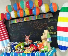 Milk & Cookie Bar. End of the school year party. Great idea for a kid's birthday .blogspot.com - by shannon