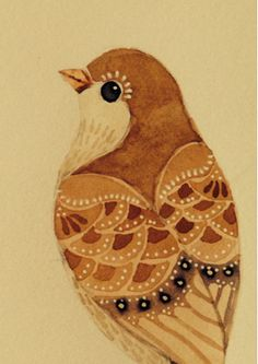 Wildlife in Inks  Watercolours