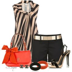 Spring/Summer With Stripes