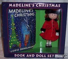 Madeline Poseable Doll Christmas Gift Set by Eden