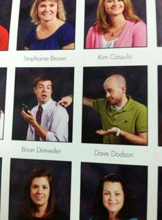 funny yearbook pics teacher catching cellphone use