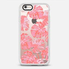 PALM transparent - protective iPhone 6 phone case in Clear and Clear by @kindofstyle #gardenart | @casetify