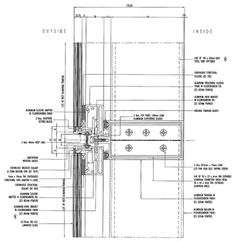 schuco curtain wall construction detail - Google Search