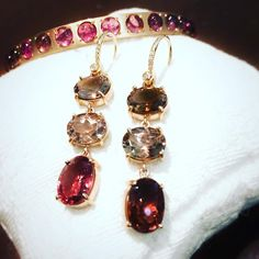 Irene Neuwirth #tourmaline earrings Tourmaline Earrings, Squash Blossom, Pink Jewelry, Happy Valentines Day, Irene, Pretty In Pink, Drop Earrings, Instagram, Happy Valentines Day Wishes