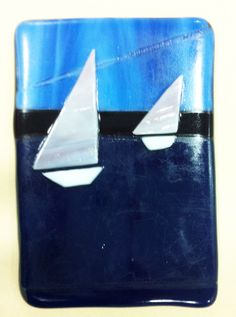 Fused glass projects by grades 7 & 8