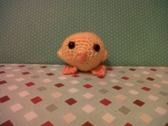 Charlie the handmade crochet chick by KookyKute on Etsy, £1.99