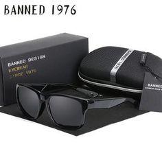 090702408f 2018 New fashion Polarized Men Women Glasses cool Sunglasses Retro Vintage  Vintage Sunglasses