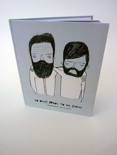 two beards are better than one by slimaq , via Behance