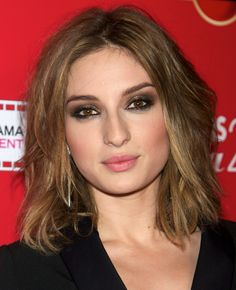"""19 of the Most Amazing Shag Hairstyles: Maria Valverde  Shag hairstyles are basically bobs, long bobs, long hairstyles and even pixies, but with choppy ends and lots of layers. Here is a great example of a long bob """"shagified."""""""