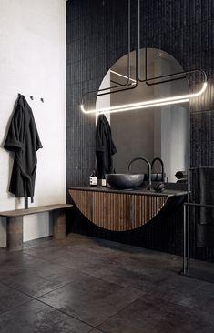 Concept and interior Design: Roman Protopopov Visualization: Roman Protopopov Washroom Design, Toilet Design, Bathroom Design Luxury, Home Interior Design, Interior Architecture, Interior And Exterior, Bathroom Inspiration, Interior Inspiration, Appartement Design