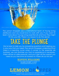 Take the plunge & become a lemondropper https://www.youngliving.com/signup/?isoCountryCode=CA&sponsorid=1616605&enrollerid=1616605