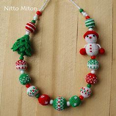 Nursing necklace Breastfeeding Teething necklace от NittoMiton