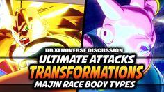Dragon Ball Xenoverse: Transformations Ultimate Attack Slots - Majin Buu...