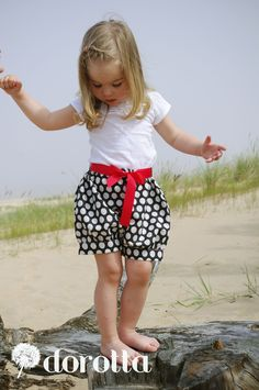 retro style toddler bloomers