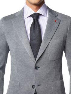 Grey smooth jacket