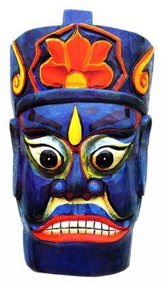 Mask chinese Tunkou