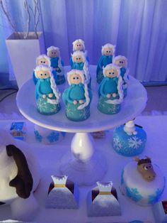 Bombom personagem Elsa Frozen