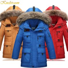 >> Click to Buy << Kindstraum New High Quality Children Winter Down Jacket Boys Warm Sport Coat Teenager 5 Colors Thick Hooded Outwear Parkas,MC217 #Affiliate